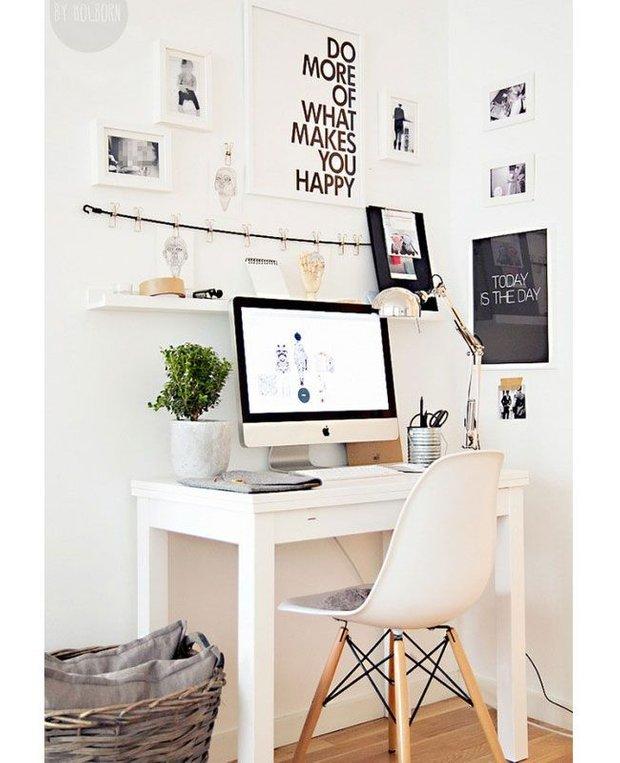 Фотография: Офис в стиле Скандинавский, Декор интерьера, Малогабаритная квартира, Декор дома – фото на INMYROOM