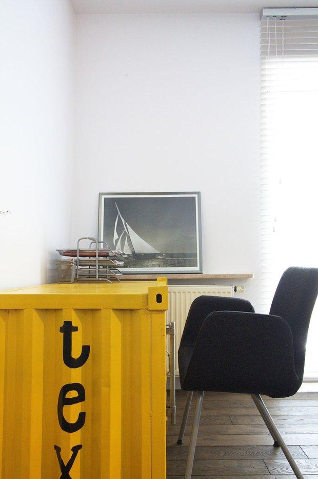 Фотография: Офис в стиле Скандинавский, Современный, Эклектика, Лофт, Квартира, Дома и квартиры, Индустриальный, Польша – фото на INMYROOM