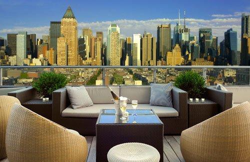 Фотография: Балкон в стиле Современный, Дома и квартиры, Городские места, Нью-Йорк – фото на INMYROOM