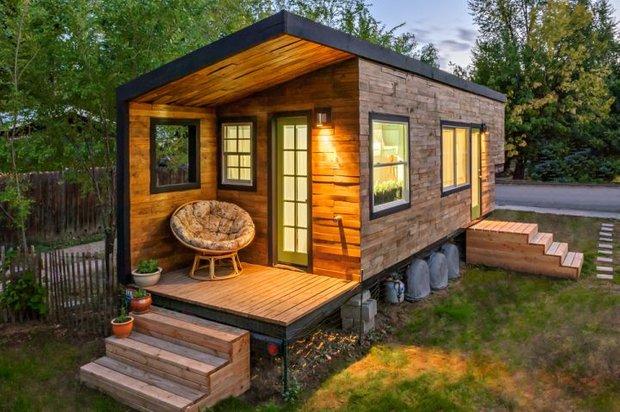 Фотография: Архитектура в стиле Современный, Малогабаритная квартира, Дом, Дома и квартиры, дизайн маленького дома, маленькие дома фото, маленькие красивые дома, проекты маленьких домов – фото на INMYROOM