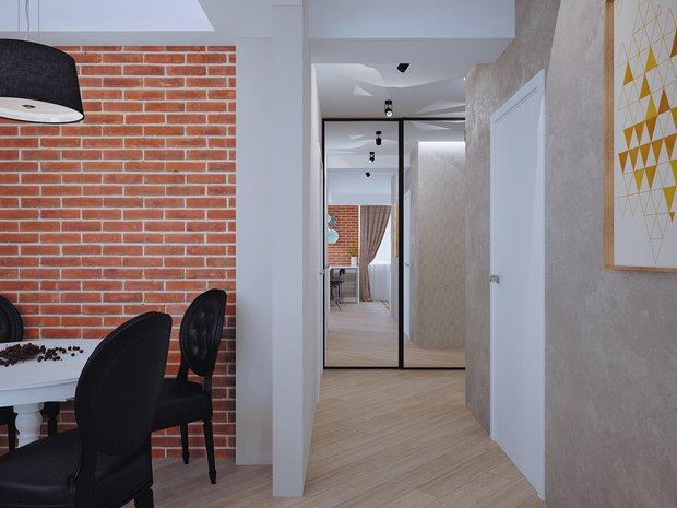 Фотография: Прихожая в стиле Лофт, Современный, Классический, Квартира, Планировки, Мебель и свет, Проект недели – фото на INMYROOM