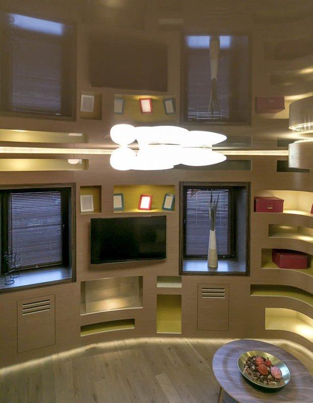 Фотография: Гостиная в стиле Современный, Декор интерьера, Дом, Интерьер комнат, Дача, Тема месяца, Дачный ответ – фото на INMYROOM