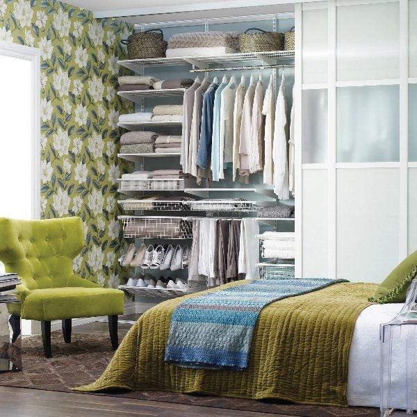 Фотография: Спальня в стиле Прованс и Кантри, Малогабаритная квартира, Квартира – фото на INMYROOM