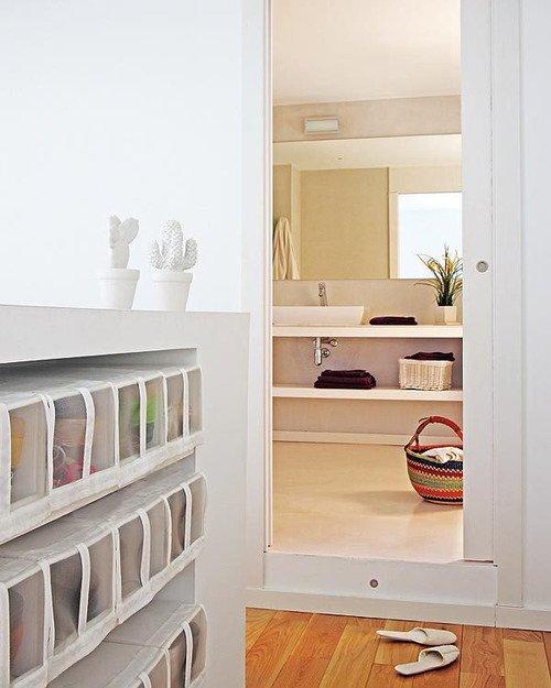 Фотография: Спальня в стиле Прованс и Кантри, Лофт, Декор интерьера, Квартира, Цвет в интерьере, Дома и квартиры, Белый, Барселона – фото на INMYROOM