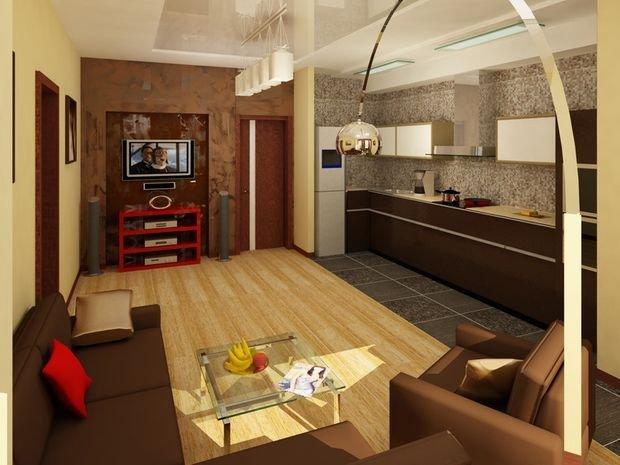 Фотография: Кухня и столовая в стиле Современный, Декор интерьера, Малогабаритная квартира, Квартира, Студия, Планировки, Мебель и свет – фото на INMYROOM
