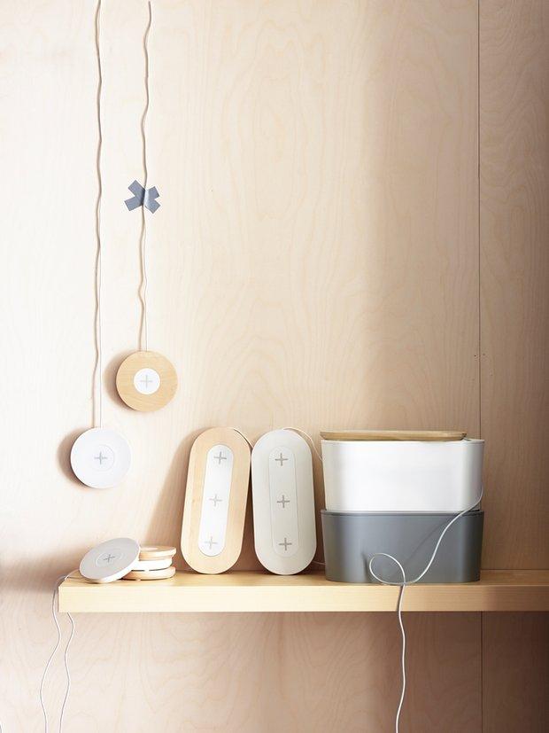 Фотография:  в стиле , Советы, ИКЕА, умный дом от ИКЕА, беспроводные зарядные устройства – фото на INMYROOM