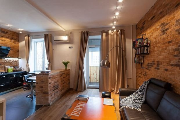 Фотография: Гостиная в стиле Лофт, Декор интерьера, Малогабаритная квартира, Квартира, Дом, Декор – фото на INMYROOM