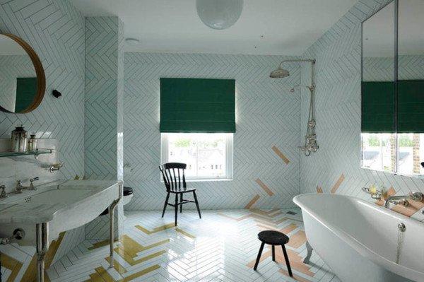 Фотография: Ванная в стиле Скандинавский, Декор интерьера, Декор дома, Пол – фото на InMyRoom.ru