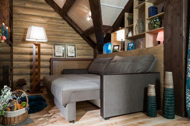 Фотография: Гостиная в стиле Прованс и Кантри, Спальня, Интерьер комнат, Мансарда – фото на InMyRoom.ru