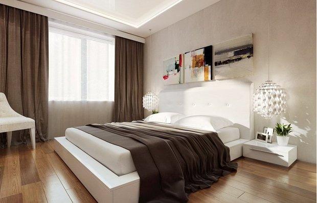 Фотография: Спальня в стиле Современный, Восточный, Квартира, Дома и квартиры, Советы – фото на InMyRoom.ru