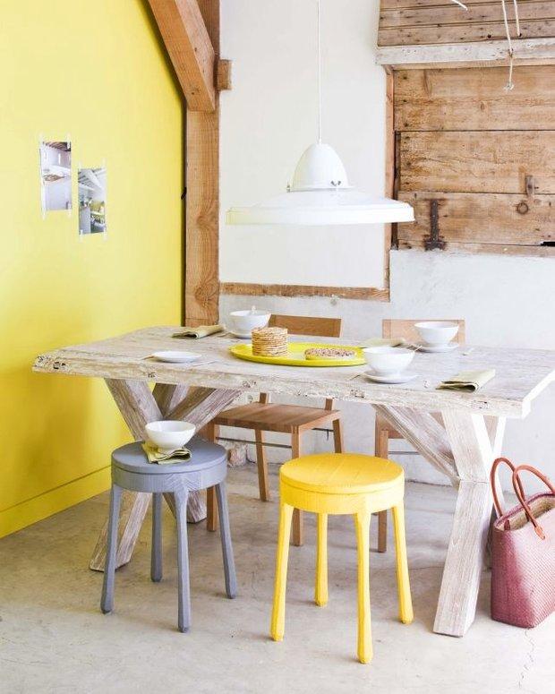 Фотография: Кухня и столовая в стиле Прованс и Кантри, Декор интерьера, Дизайн интерьера, Цвет в интерьере, Желтый – фото на INMYROOM