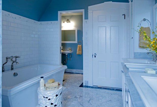 Фотография: Прочее в стиле Прованс и Кантри, Ванная, Интерьер комнат – фото на InMyRoom.ru