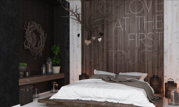 Фотография: Спальня в стиле , Малогабаритная квартира, Индустрия, События, Проект недели, Перепланировка – фото на INMYROOM