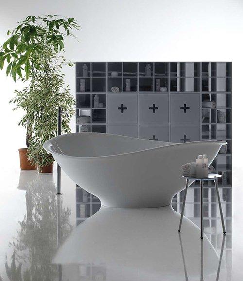 Фотография: Ванная в стиле Современный, Декор интерьера, Дом, Мебель и свет, Футуризм – фото на INMYROOM