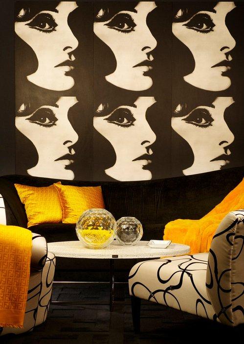 Фотография: Гостиная в стиле Эклектика, Стиль жизни, Советы, Поп-арт – фото на INMYROOM