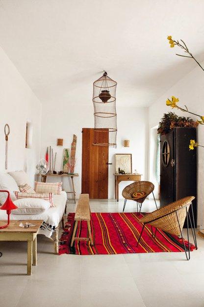 Фотография: Гостиная в стиле Восточный, Эклектика, Дом, Дома и квартиры – фото на INMYROOM