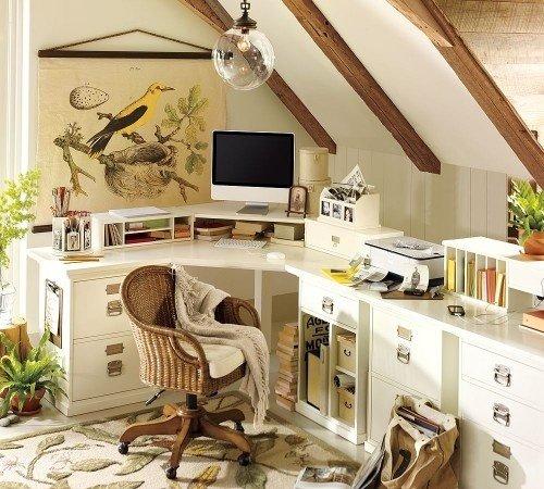 Фотография: Кабинет в стиле Прованс и Кантри, Декор интерьера, Декор дома – фото на INMYROOM