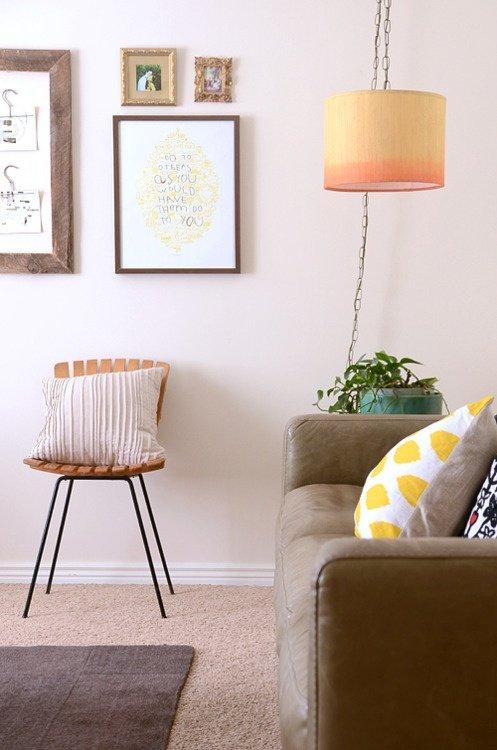 Фотография: Гостиная в стиле Скандинавский, Декор интерьера, Аксессуары, Декор, Мебель и свет – фото на INMYROOM