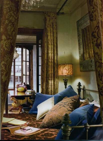 Фотография: Спальня в стиле Прованс и Кантри, Лофт, Декор интерьера, Квартира, Дома и квартиры, Интерьеры звезд – фото на INMYROOM