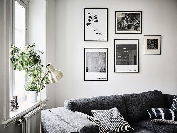 Фотография: Гостиная в стиле Скандинавский, Квартира, Советы – фото на INMYROOM