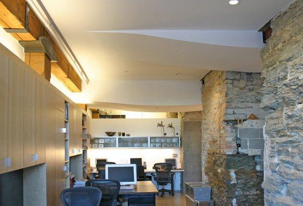 Фотография: Офис в стиле Лофт, Квартира, Дома и квартиры, Проект недели – фото на INMYROOM