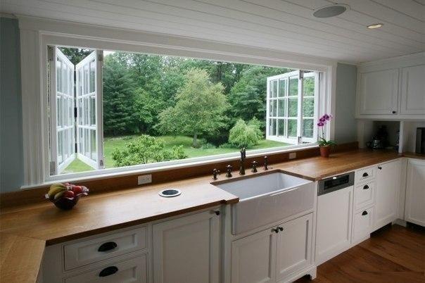 Фотография: Кухня и столовая в стиле Современный, Декор интерьера, Советы, Подоконник – фото на INMYROOM