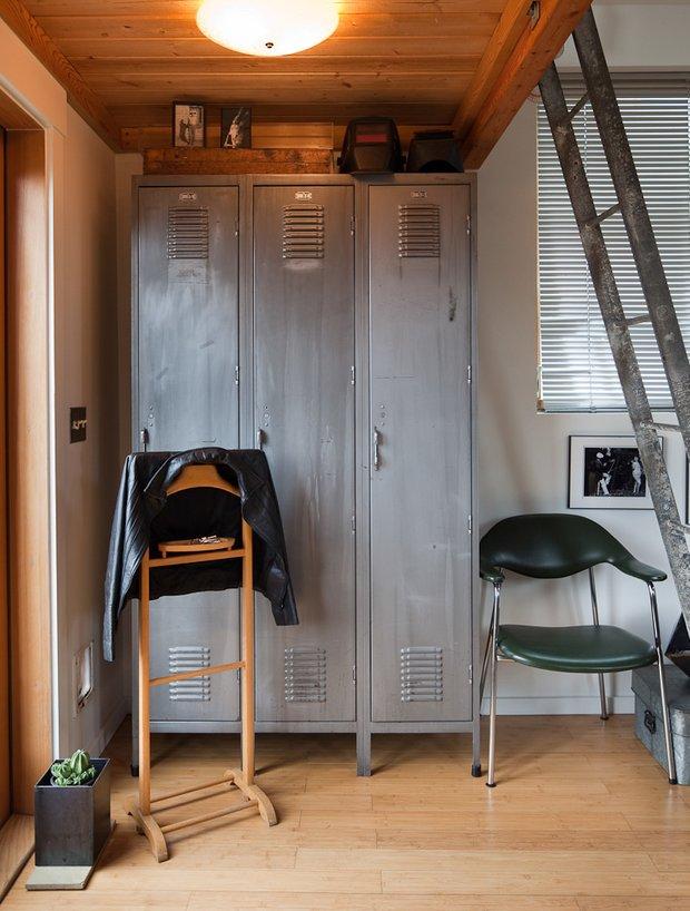 Фотография: Прихожая в стиле Лофт, DIY, Малогабаритная квартира, Квартира, Дом, Дома и квартиры – фото на INMYROOM