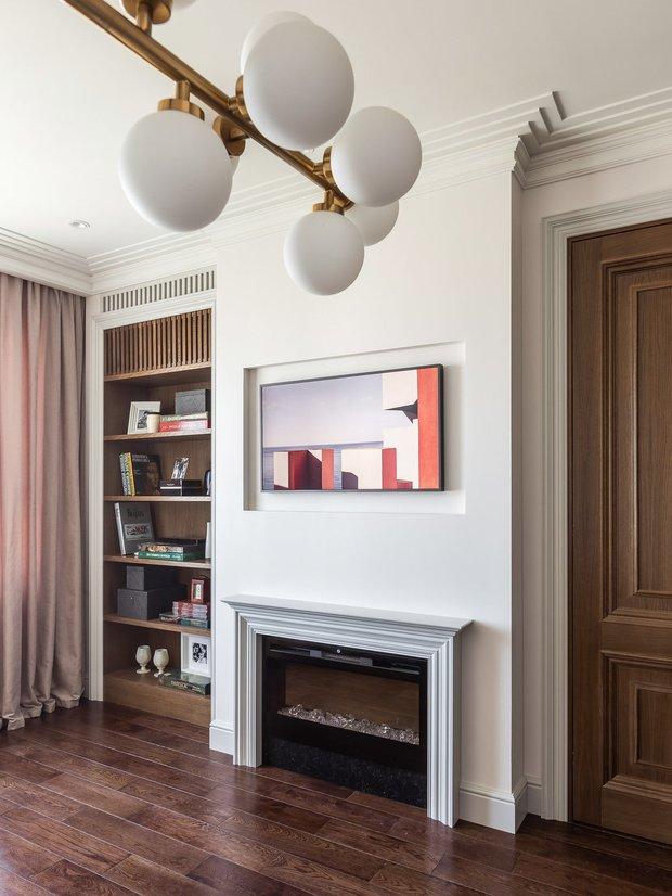 Фотография: Гостиная в стиле Современный, Квартира, Гид – фото на INMYROOM
