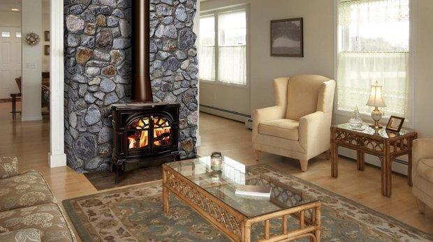 Фотография: Гостиная в стиле , Декор интерьера, Дом, Декор дома, Камин – фото на INMYROOM