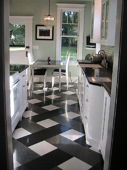 Фотография: Кухня и столовая в стиле Современный, Декор интерьера, Декор дома, Прованс, Пол – фото на INMYROOM