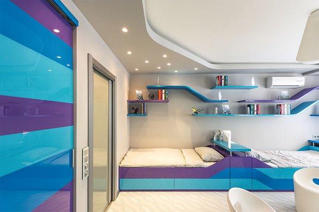 Фотография: Спальня в стиле Современный, Детская, Декор интерьера, Интерьер комнат – фото на INMYROOM