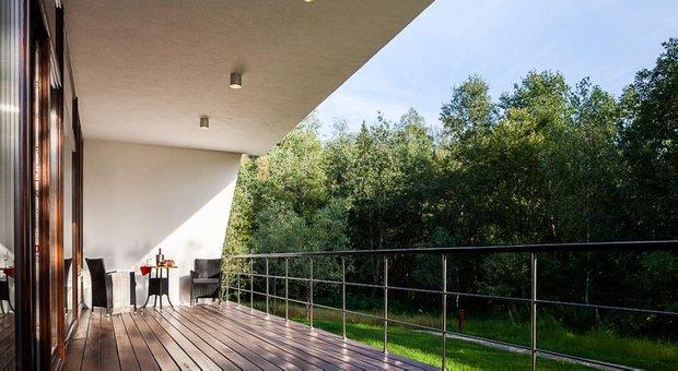 Фотография: Балкон, Терраса в стиле Современный, Дома и квартиры, Городские места, Отель, Проект недели – фото на INMYROOM