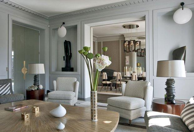 Фотография: Гостиная в стиле Современный, Гид, Жан-Луи Денио – фото на INMYROOM