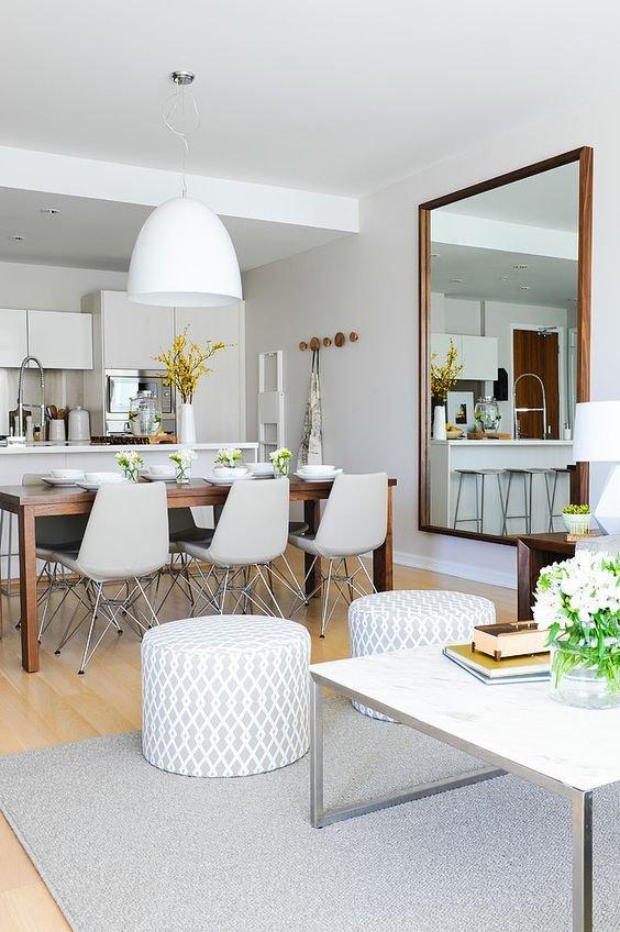 Фотография: Кухня и столовая в стиле Скандинавский, Гостиная, Стиль жизни, Советы – фото на INMYROOM