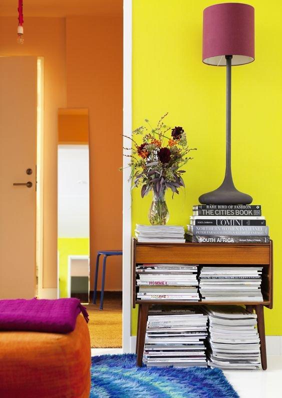 Фотография: Мебель и свет в стиле Современный, Эклектика, Советы, Желтый, Виктория Тарасова – фото на INMYROOM