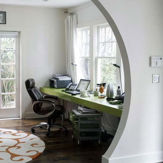 Фотография: Кабинет в стиле Современный, Декор интерьера, Квартира, Декор, Советы, Подоконник, Окно – фото на INMYROOM