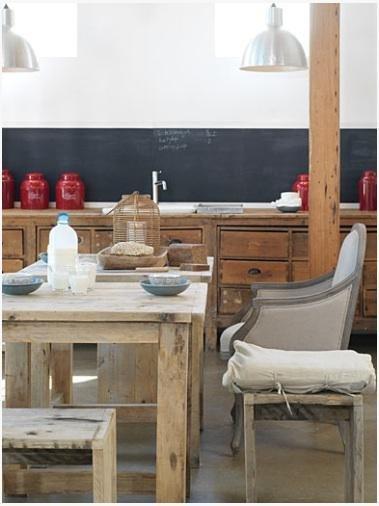 Фотография: Кухня и столовая в стиле Прованс и Кантри, Лофт, Декор интерьера, Интерьер комнат – фото на INMYROOM