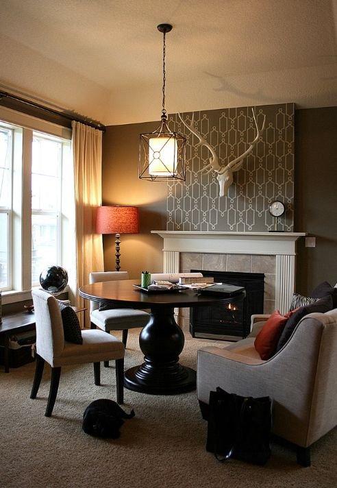 Фотография: Гостиная в стиле Скандинавский, Декор интерьера, Дом, Декор дома, Цвет в интерьере – фото на INMYROOM