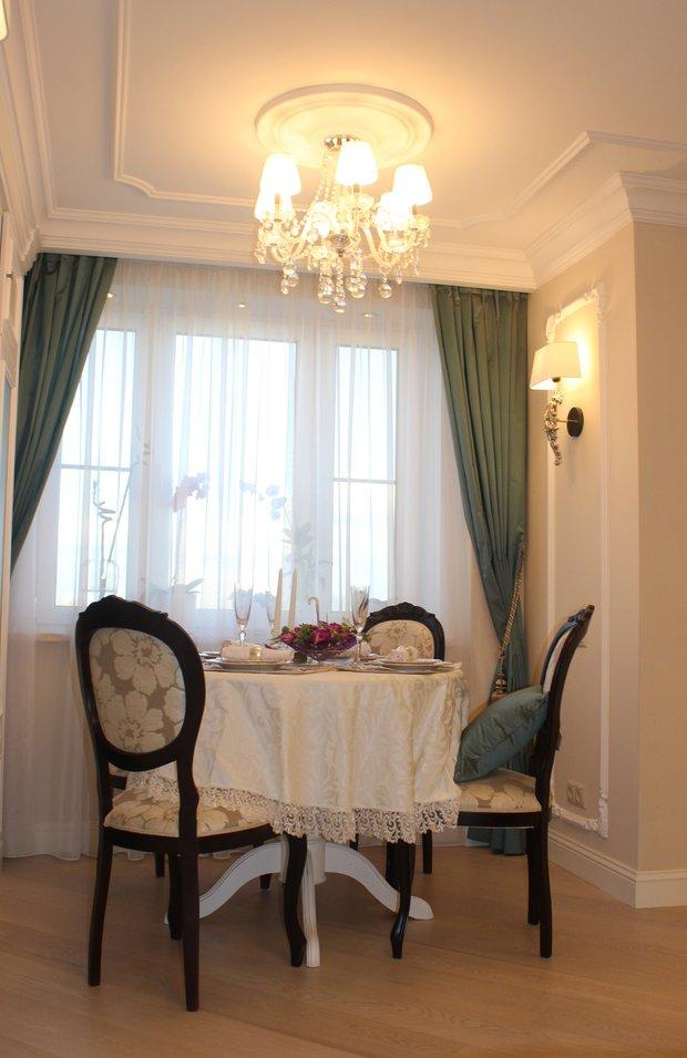 Фотография: Кухня и столовая в стиле Классический, Гостиная, Советы, Дизайн-студия Ольги Кондратовой, Ольга Кондратова – фото на INMYROOM