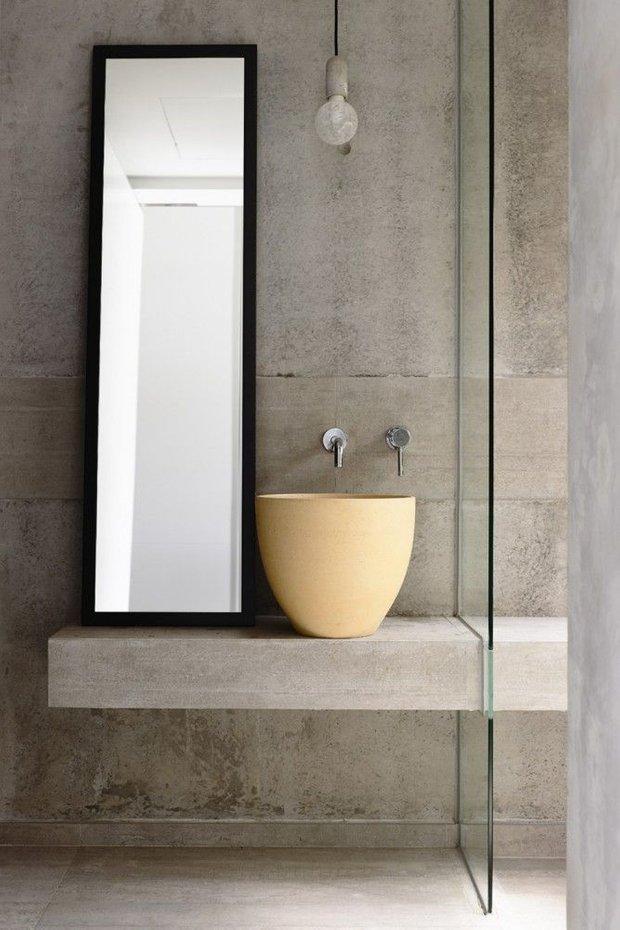 Фотография: Ванная в стиле Лофт, Декор интерьера, Квартира, Декор, Советы, раковина, раковина в ванной – фото на INMYROOM