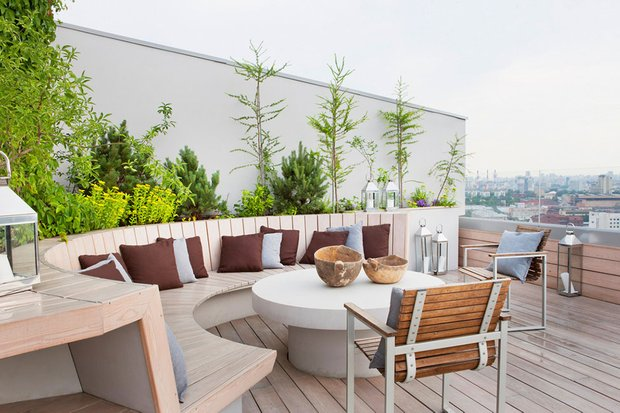 Фотография: Балкон, Терраса в стиле Современный, Квартира, Дома и квартиры, Интерьеры звезд – фото на INMYROOM