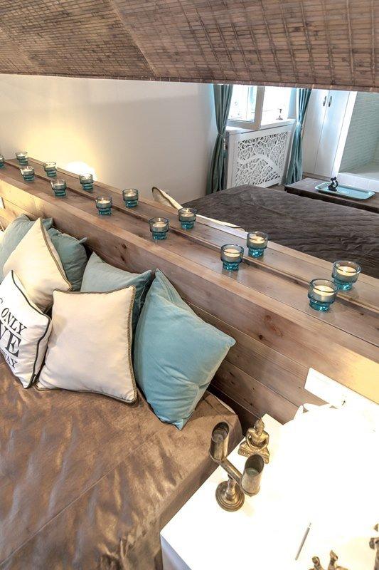 Фотография: Спальня в стиле Прованс и Кантри, Современный, Интерьер комнат, Дача, Дачный ответ, Мансарда – фото на INMYROOM