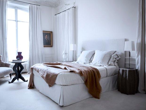 Фотография: Спальня в стиле Скандинавский, Современный, Квартира, Дома и квартиры, Международная Школа Дизайна – фото на INMYROOM