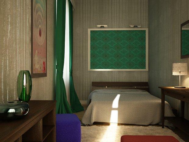 Фотография: Спальня в стиле Современный, Интерьер комнат, Elitis, IKEA – фото на INMYROOM