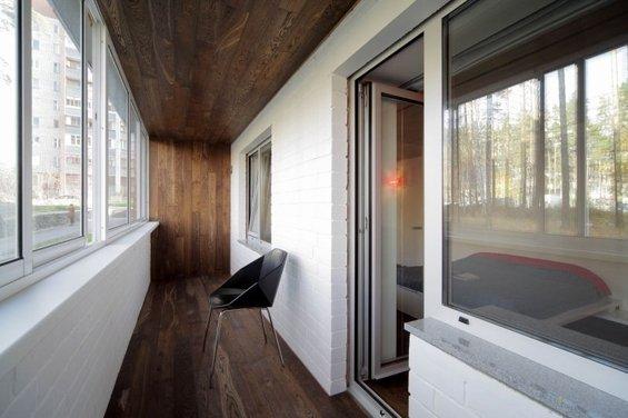 Фотография: Балкон в стиле Минимализм, Лофт, Квартира, Дома и квартиры, Градиз – фото на INMYROOM