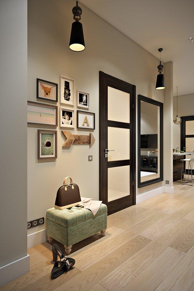 Фотография: Прихожая в стиле Современный, Эко, Лофт, Квартира, Проект недели – фото на INMYROOM