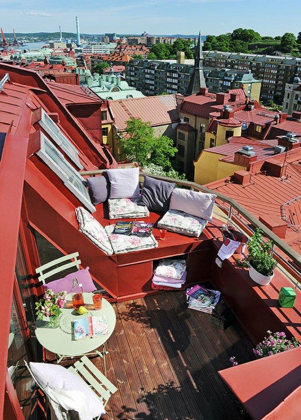 Фотография: Балкон, Терраса в стиле Прованс и Кантри, Скандинавский, Флористика, Стиль жизни – фото на INMYROOM