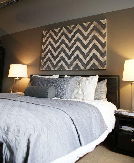 Фотография: Спальня в стиле Современный, Декор интерьера, Декор дома, Картины, Современное искусство – фото на INMYROOM