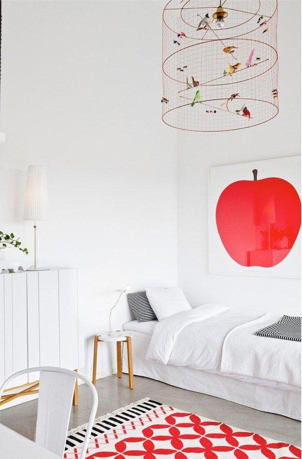 Фотография: Спальня в стиле Скандинавский, Детская, Декор интерьера, Интерьер комнат, Советы – фото на INMYROOM