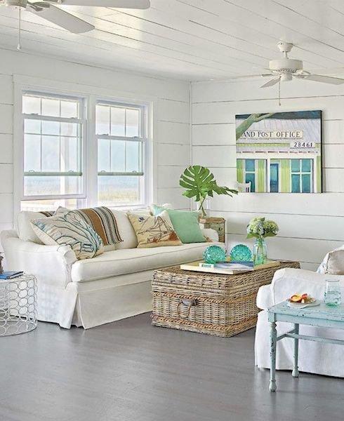 Фотография: Гостиная в стиле Прованс и Кантри, Декор интерьера, Декор дома, Плетеная мебель – фото на INMYROOM